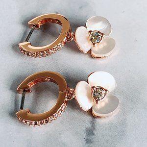 kate spade Jewelry - Kate Spade Fashion Pearl Gold-plated Earrings